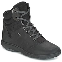 Shoes Women Hi top trainers Geox D NEBULA 4 X 4 B ABX Black