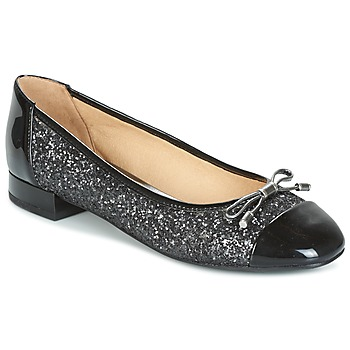 Shoes Women Flat shoes Geox D WISTREY Black