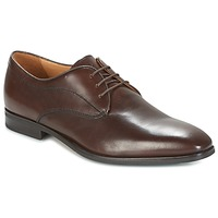 Shoes Men Derby Shoes Geox U NEW LIFE Brown