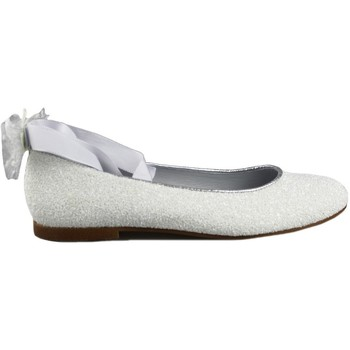 Shoes Girl Flat shoes Oca Loca OCA LOCA COMUNION CINTAS WHITE