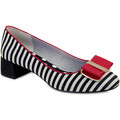 Ruby Shoo Ruby Shoo Ladies June Low Heel Court Shoe