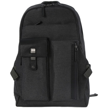 Bags Men Bag Piquadro ZAINO ESPANDIBILE PORTA PC Nero