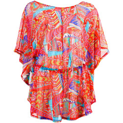 Clothing Women Tunics Banana Moon Red Tunic Tulkanahela Tunney RED