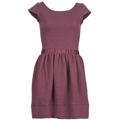 Clothing Women Short Dresses Naf Naf OHORTENSE BORDEAUX