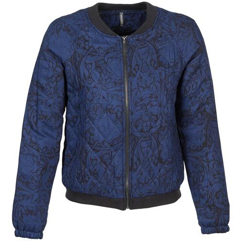 Clothing Women Jackets Naf Naf LORRICE Blue