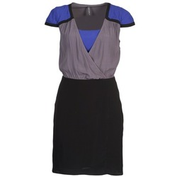 Clothing Women Short Dresses Naf Naf LYFAN Black / Grey / Blue