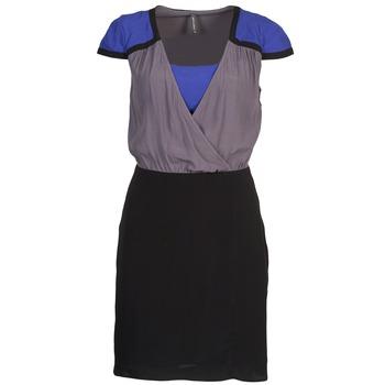 Clothing Women Short Dresses Naf Naf LYFAN Black / Grey / Blue