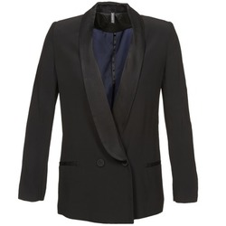 Clothing Women Jackets / Blazers Naf Naf LYRTOLY Black