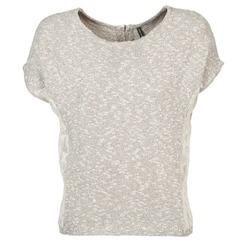 Clothing Women short-sleeved t-shirts Naf Naf MILLON Grey