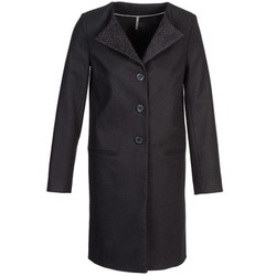 Clothing Women Coats Naf Naf APATI Black