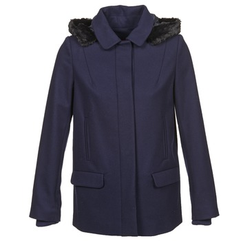 Clothing Women Coats Naf Naf ARMANDE Marine