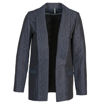 Clothing Women Jackets / Blazers Naf Naf ELYO MARINE