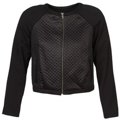Clothing Women Jackets Naf Naf ELYSSA Black