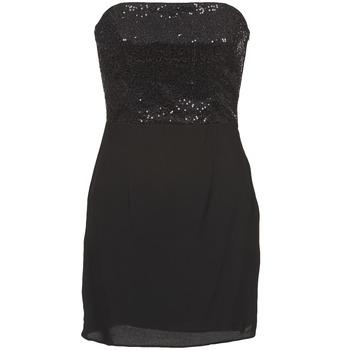 Clothing Women Short Dresses Naf Naf LYCHA Black