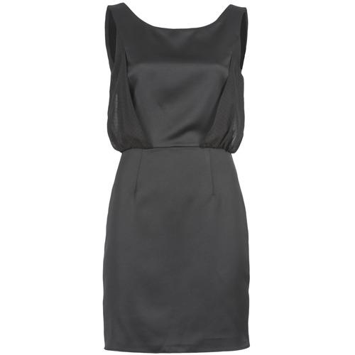 Clothing Women Short Dresses Naf Naf LYCOPINE Black
