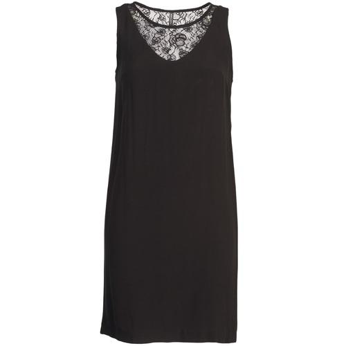 Clothing Women Short Dresses Naf Naf LYSHOW Black