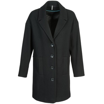 Clothing Women coats Naf Naf ALEX Black