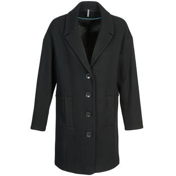 Clothing Women Coats Naf Naf ALEX Black