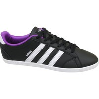 Shoes Women Low top trainers adidas Originals VS Coneo QT W White-Violet-Black