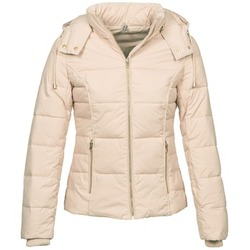 Clothing Women Duffel coats Naf Naf BEINE Ecru