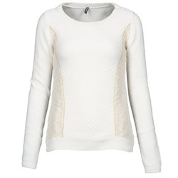 Clothing Women jumpers Naf Naf MIBI White