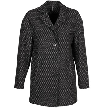 Clothing Women coats Naf Naf AKLAPA Black