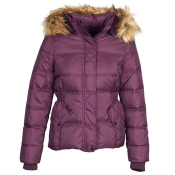 Clothing Women Duffel coats Naf Naf BEGY Bordeaux
