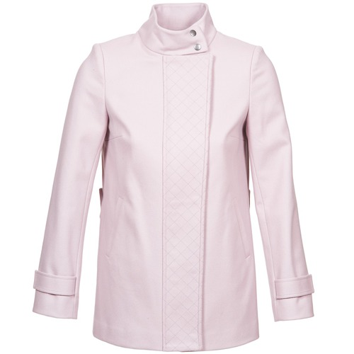 Clothing Women Coats Naf Naf ACORA Pink