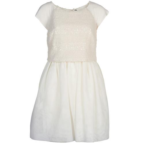 Clothing Women Short Dresses Naf Naf LYMELL White