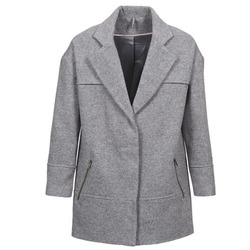 Clothing Women Coats Naf Naf ADELI Grey