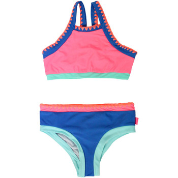 Clothing Girl Bikinis Seafolly 2 Pieces Multicolored Kids Swimsuit Festival Surf PINK