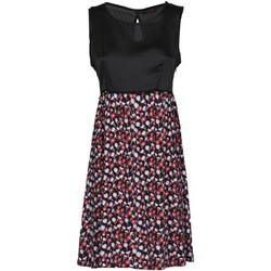 Clothing Women Long Dresses Café Noir JA469 Dress Women Nero