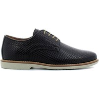 Shoes Men Walking shoes Igi&co 7681 Shoes with laces Man Black Black
