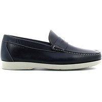 Shoes Men Loafers Igi&co 7705 Mocassins Man Blue Blue