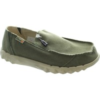 Shoes Men Loafers Hey Dude farty classic men's musk beige canvas relaxed fit slip on loafe Musk