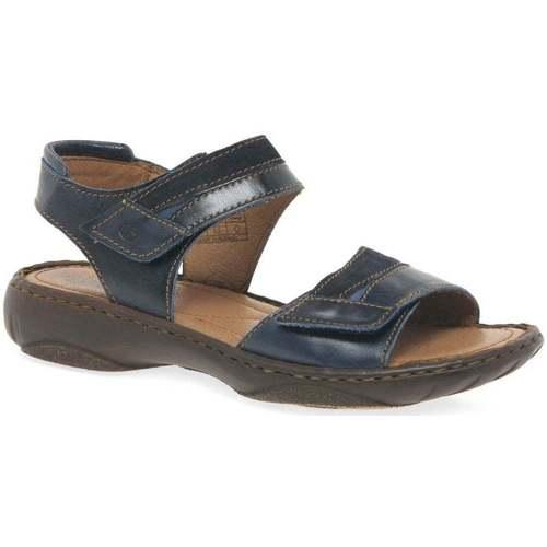 Shoes Women Sandals Josef Seibel Debra 19 Womens Leather Sandals blue