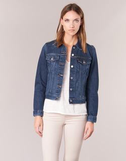 Clothing Women Denim jackets Levi's ORIGINAL TRUCKER Blue / Jean