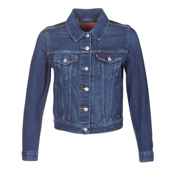 Clothing Women Denim jackets Levi's ORIGINAL TRUCKER Blue / Jean