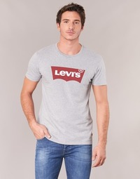 Clothing Men Short-sleeved t-shirts Levi's GRAPHIC SET-IN Grey