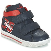 Shoes Boy Hi top trainers Mod'8 STARIUS MARINE / Red