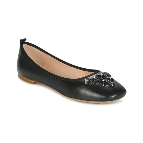 Shoes Women Flat shoes Marc Jacobs CLEO STUDDED Black