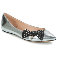 Shoes Women Flat shoes Marc Jacobs RITA POINTY TOE Silver