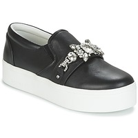 Shoes Women Slip-ons Marc Jacobs WRIGHT EMBELLISHED SNEAKER Black