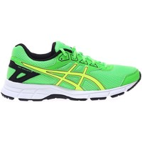 Shoes Women Running shoes Asics Gel Galaxy 9 GS Black-Yellow-Green