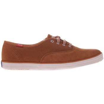 Shoes Women Low top trainers Keds CH Suede Camel Brown