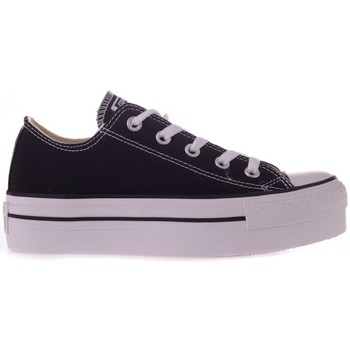 Shoes Men Low top trainers Converse CT Platform OX White-Black