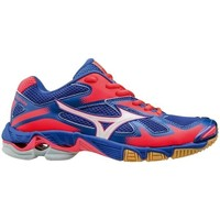 Shoes Women Low top trainers Mizuno Wave Bolt 5 Pink-Blue