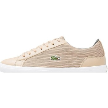 Shoes Men Low top trainers Lacoste Lerond 117 3 Cam Beige