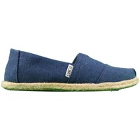 Shoes Women Espadrilles Toms W.S.Class Washed Canvas Rope S blue