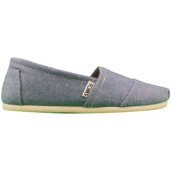 Toms  W.Seasonal Classics Chambray  womens Espadrilles  Casual Shoes in blue